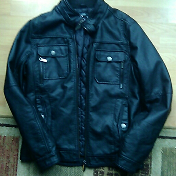 a91ced256 William Rast: Men's Faux Leather Jacket